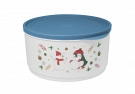 "Round container ""Christmas"" 2,4l"
