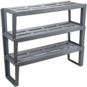 Shelf for shoes Slip 3 sectional