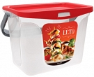 "Container for barbeque ""Leto"" 6 L"