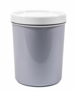 "Container for bulks and microwave ""Krita"" 1,2 l , purple fog"