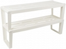 Shelf for shoes Slip 2 sectional