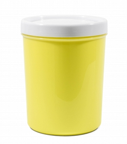 "Container for bulks and microwave ""Krita"" 1,2 l , light green"
